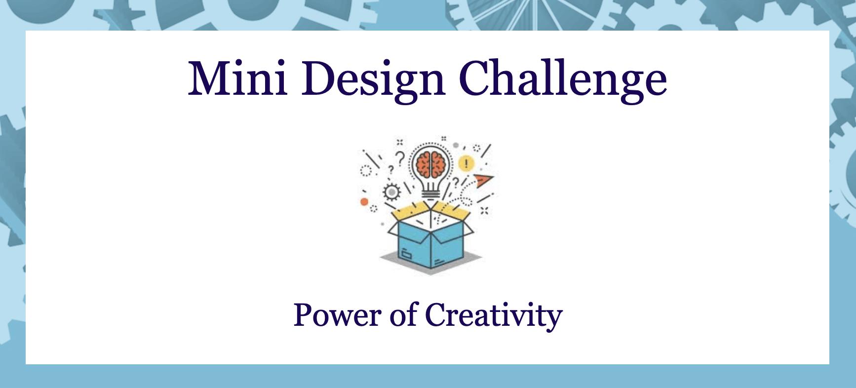 Power of Creativity Challenge